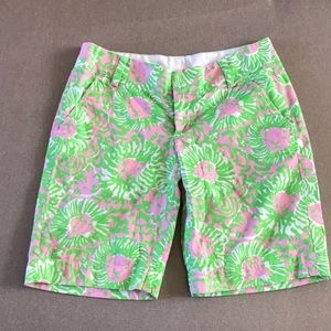 Lilly Pulitzer Cabana Pink Sunnyside Chipper Short
